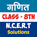 8th class maths solution in hindi icon