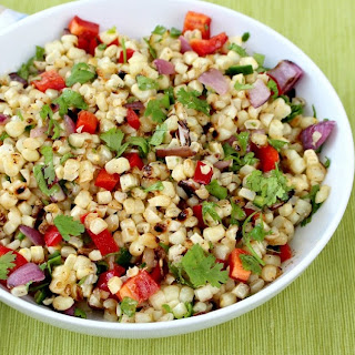 Grilled Corn Salad with a Chili-Lime Vinaigrette
