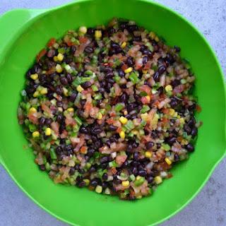 Texas Caviar AKA Black Bean Salad.