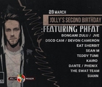 Jolly's 2nd Birthday feat. PHFAT : The Jolly Roger, Hatfield