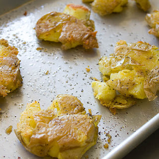 Smashed Potatoes.