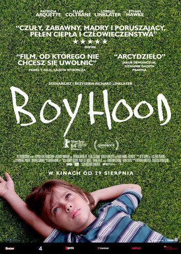 Przód ulotki filmu 'Boyhood'