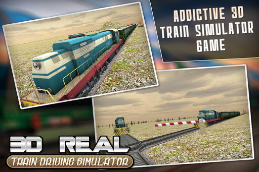 Real Train Drive Simulator 3D