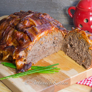 Basket Weave Bacon Meatloaf