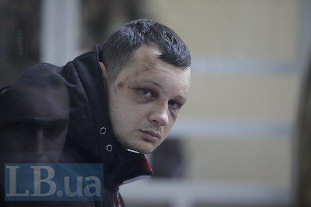 Станислав Краснов во время судебного заседания