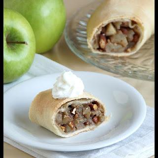 Almond Apple Strudel