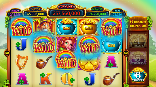 Vegas Downtown Slots™ – Slot Machines & Word Games 4.32 Android APK Mod 1