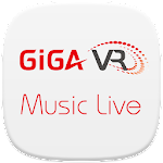 KT GiGA VR Music Live Player Icon