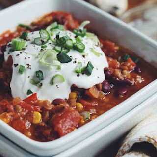 Easy Vegan Chili.
