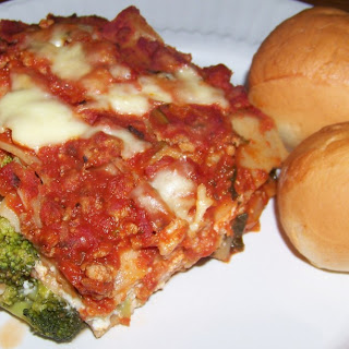 Your Kids Will Eat Their Broccoli If You Serve Them This Turkey Broccoli Lasagna