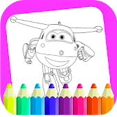 Tải Game coloring book super swingss