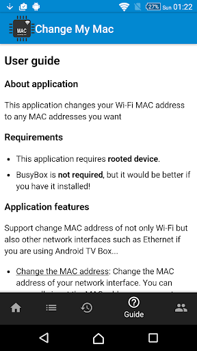 Change My MAC - Spoof Wifi MAC 1.7.4 screenshots 6