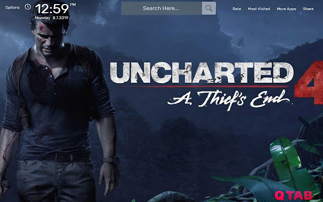 Uncharted 4 Wallpapers New Tab Theme