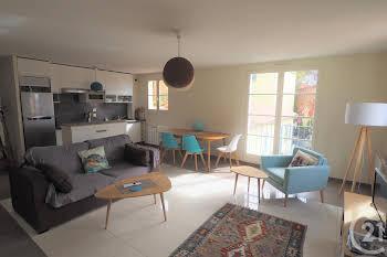 Appartement meublé 2 pièces 53,39 m2