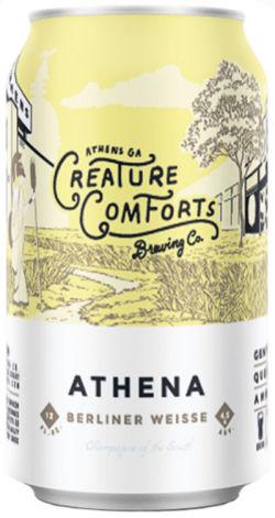 Logo of Creature Comforts Athena