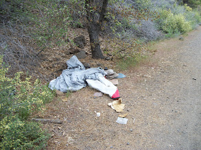 """Photo: Removed from the """"Bizz"""" by Dieter and Karin May 25th 2011 about one mile west from Bridge # 3"""