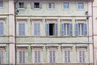 Photo: Building on Via Volte della Pace