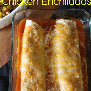 Easy and Cheesy Chicken Enchiladas