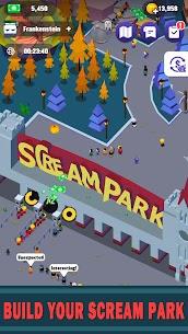 Idle Scream Park Mod Apk (Unlimited Money) 1