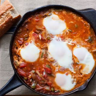 Shakshuka with Fennel and Feta