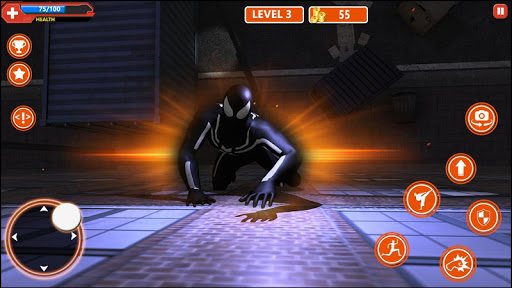 Spider Hero:Amazing Strange Super Spider Rope Hero 1.0 4