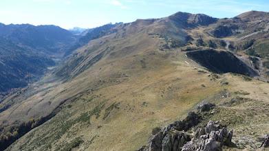 Photo: Au fond à droite le Pic de Rebenty