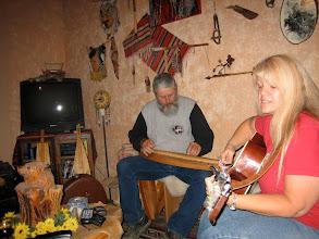 Photo: Family jamming.