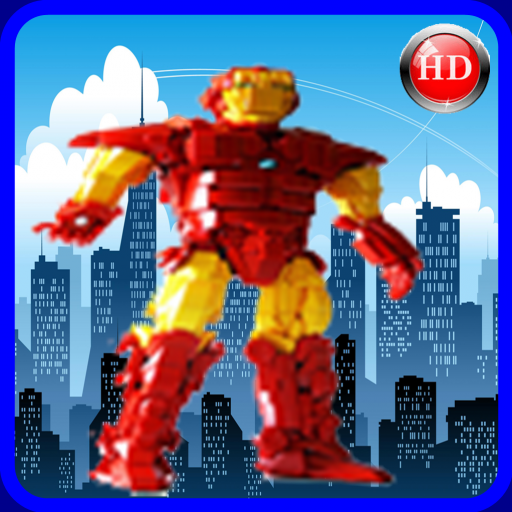 Iron Run For Lego