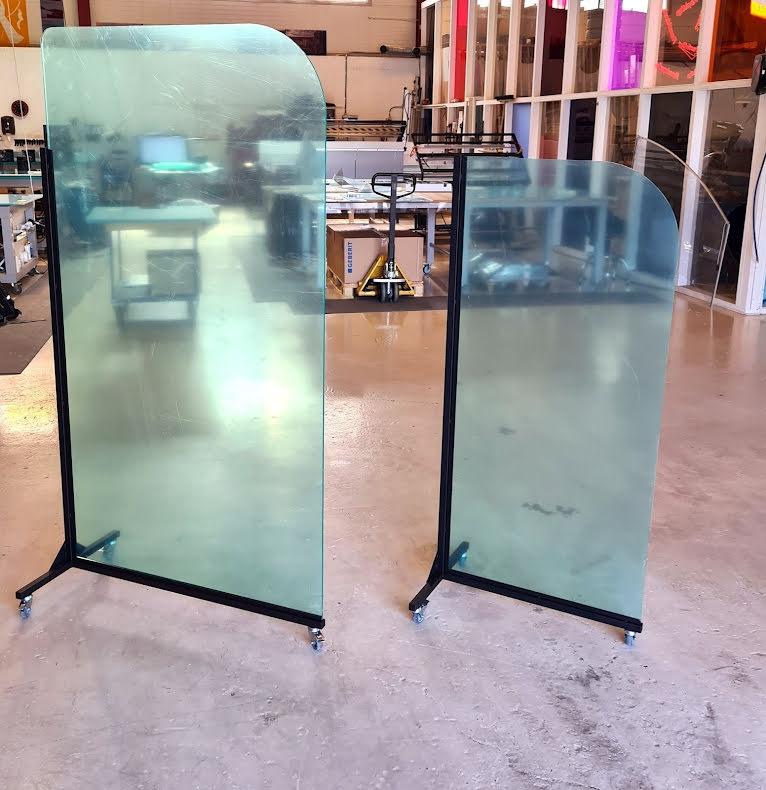 Plexiglass klar gulvstående 70x150