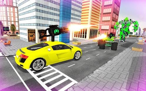 Download monster robot car transform: robot shooting war For PC Windows and Mac apk screenshot 24