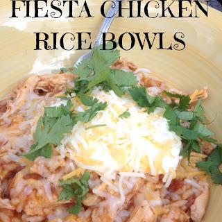 Fiesta Chicken Rice Bowls