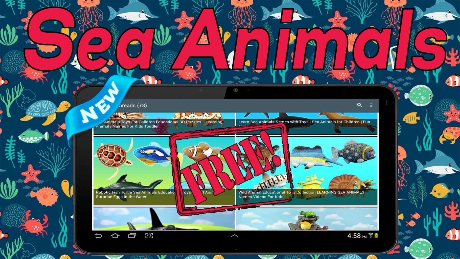 sea animals names android apps on google play