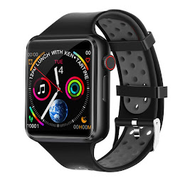 Smartwatch C5, Bluetooth, functie apel, camera foto, Negru