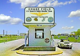 Photo: NAS Chase Field Main Gate Circa 1967