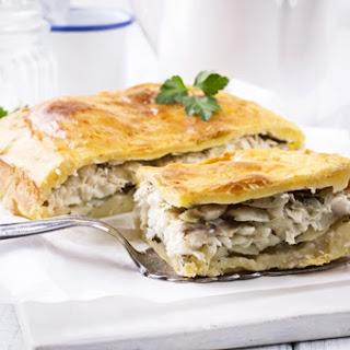 Kefalonian Cod Fish Pie.