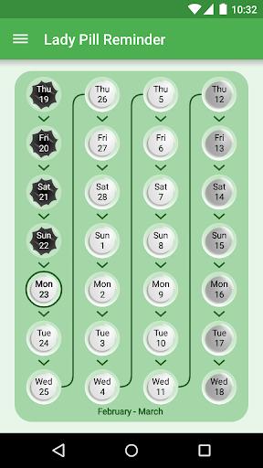 Lady Pill Reminder  ® screenshot 4