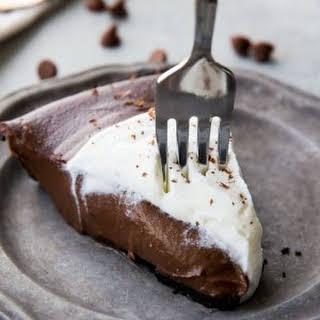 Chocolate Silk Pie.