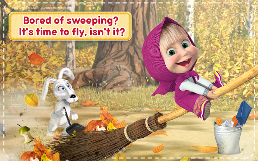 Masha and the Bear: House Cleaning Games for Girls  screenshots 24