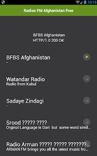 Radios FM Afghanistan Free - náhled