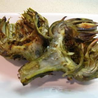 Seared Marinated Artichokes