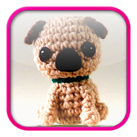 Cute Crochet Pug Dog - Free Pattern - DIY 4 EVER | 200x200