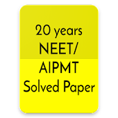 20 years Neet / Aipmt Solved Papers Offline