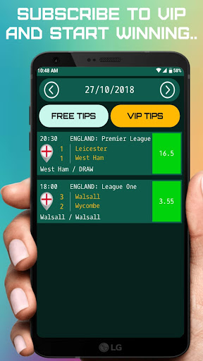 Best Daily Betting Tips: Football Bet 18.0 screenshots 1