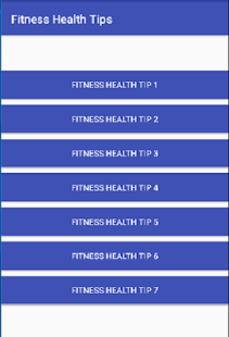 Fitness Health Tips - náhled