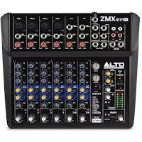 Alto Pro ZEPHYR ZMX122FX Unpowered Mixer