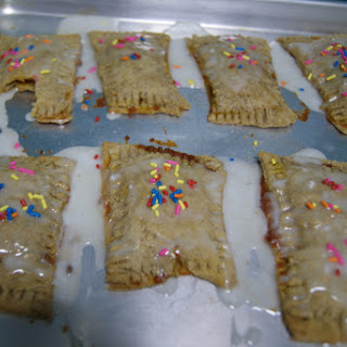 "Homemade Pumpkin Butter-Filled ""Pop Tarts"""