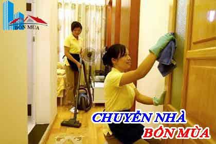 dịch vụ dọn nhà trọn gói bốn mùa