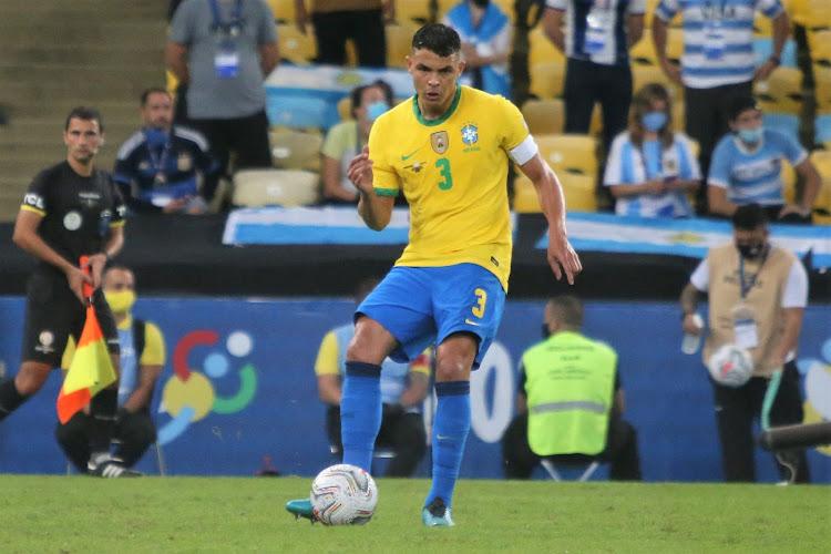 """Thiago Silva rejoint le club des 100 : """"Même dans mes rêves les plus fous, je n'aurais jamais pu imaginer ce moment"""""""