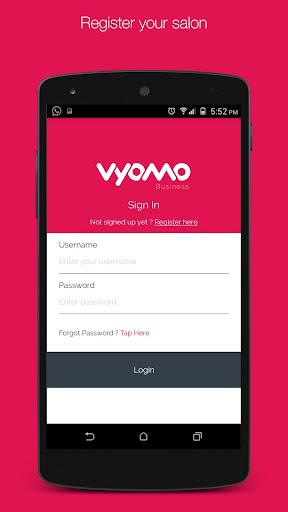 Vyomo Business- Manage Salons