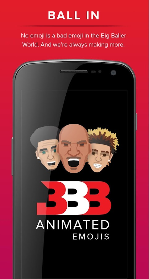 Big Baller Brand Emojis- screenshot
